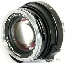 Voigtlander NOKTON Classic 40mm F1.4 FAST Wide-Angle Lens LEICA Konica M Mount