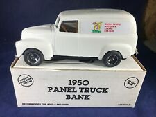 B2-31 ERTL 1:25 SCALE DIE CAST BANK - 1950 PANEL TRUCK - RAJAH TEMPLE ANTIQUE
