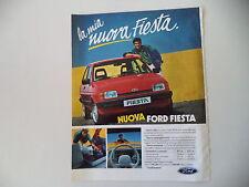 advertising Pubblicità 1983 FORD FIESTA