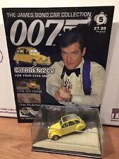 James Bond 007 Car Collection No. 5 Citroen 2CV (1/43 scale die-cast)