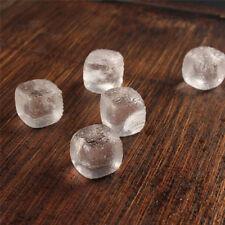 Whisky Ice Stones Wine Drinks Beer Beverage Cooler Cubes Clear Crystal Rocks
