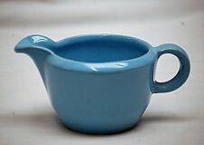 Old Vintage Lazy Bones Frankoma Milk Creamer Robin Egg Blue 6A Art Pottery