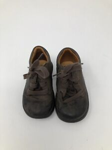 Stride Rite Toddler Boy Size 4.5M Brown Leather Ankle Boots