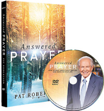 Answered Prayer by Pat Robertson (CBN, DVD, 2017) Usually ships in 12 hours!!!