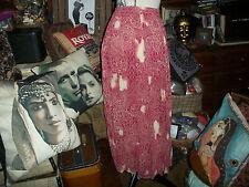 ASTUCES Paris Lovely Coral Skirt Size M/L