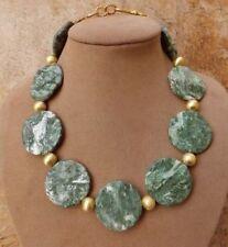 Collane e pendagli di bigiotteria in oro con pietra in pietra principale agata