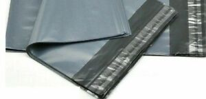 """9 x 12"""" Grey Mailing Bags Strong Self Seal Poly Postal Post Waterproof Pck of 50"""