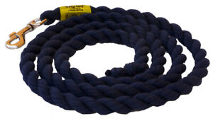 Jolly Rope Horse Lead Nickel Clip Various Colours 2mt