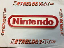 Logo Nintendo en Impression 3D
