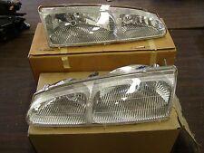 OEM Ford 1996 1997 Thunderbird + Cougar Headlights Headlight Pair