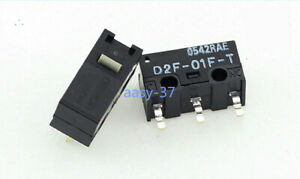 2pcs new Omron D2F-01F-T Snap Action Limit Switch Single Pole Micro Mni