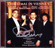 Placido DOMINGO Signiert CHRISTMAS IN VIENNA V Sarah BRIGHTMAN Helmut LOTTI CD
