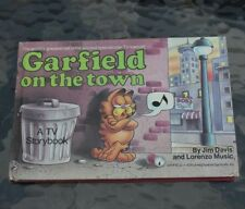 Garfield on the Town by Jim Davis (1983, Hardcover Book) Comic Strips