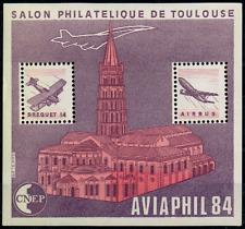 TIMBRE FRANCE BLOC CNEP n°5 NEUF** AVIAPHIL (salon philatélique de Toulouse)