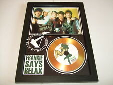 FRANKIE GOES TO HOLLYWOOD  SIGNED GOLD CD  DISC  41