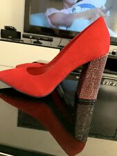 Brand new red ladies shoes by bellucci size Uk 5
