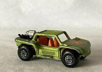 Vintage Matchbox Lesney Toy Car No. 13 Baja Buggy 1971 Superfast #Za1