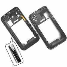 Genuine Samsung Galaxy Ace S5830 rear chassis side housing camera glass gun met