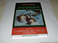 APE ESCAPE da SPECTRAVIDEO COMMODORE VIC 20 (carrello) NUOVO VECCHIO STOCK SUPER RARA!
