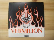 """ILLEGAL ILM 0010 7"""" 45RPM '78 VERMILION """"ANGRY YOUNG WOMEN"""" EX"""