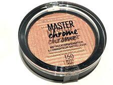 MAYBELLINE MASTER CHROME METALLIC HIGHLIGHTER/ILLUMINATOR NEW 150 MOLTEN PEACH
