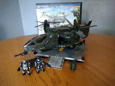 Mega Bloks Halo USNC Falcon With Landing Pad 100% complete, box and instructions