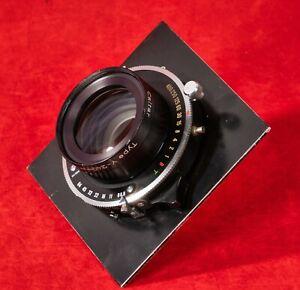 Calumet Caltar Type-Y 240mm f:6.8 Lens Copal No. 1 Shutter