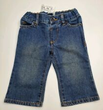 Nwt The Children's Place Bootcut Jeans Infant Size 6-9 Months Stonewashed Denim
