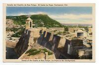 Detail of the Castle of San Felipe La Popa in the background. Columbia 1930-1945
