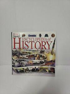 DK Chronicle Encyclopedia of History CD-ROM 2002 Windows 95