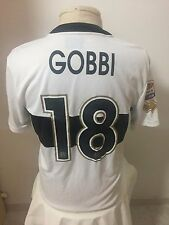 Maglia calcio Parma 2013 14 N 18 Gobbi match worn issued shirt trikot maillot