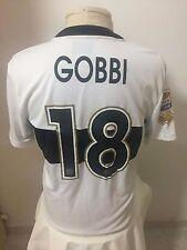 Maglia calcio Parma 2013 14 N 18 Gobbi match worn issued shirt trikot maillot