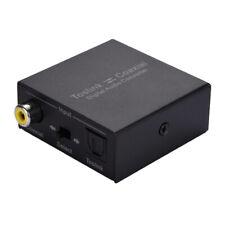 Optical to Coaxial Digital 2-Way Mutual Audio Converter Switch Splitter Adapter