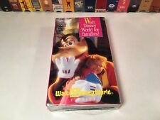 Walt Disney World Florida Family Vacation Planner New VHS Delta Airlines Travel