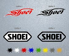 MOTORCYCLE STICKER VINYL Shoei PEGATINA DECAL Helmet