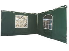 2x Pavillion-Seitenteil+Fenster Faltpavillion-Seitenwände Seitenwand Seitenteile