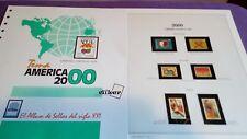 hojas sellos america upaep, Efilcar especial 2000.