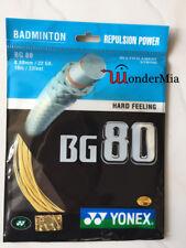 [Max 28lbs] Genuine YY BG80 0.68mm for Badminton String Racket 10m (6 COLOR)