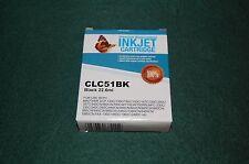 CLC51BK Black 22.6ml Premium Replacement InkJet Cartridge 11-2016 exp.date