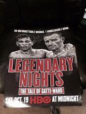 Irish Thunder Micky Ward Autographed 16x20 Photo Fight Poster