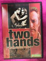 Two Hands DVD Heath Ledger Rose Byrne Bryan Brown Gregor Jordan