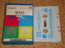 QUEEN - Hot Space - cassette tape album - France issue, blue case