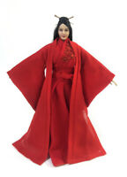 1/6 Female Red Ancient Style Dress Han Clothes Fit 12'' PH TBL UD Action Figure