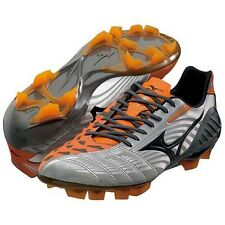 MIZUNO soccer shoes Spike WAVE IGNITUS 3SL 12KP311 Silver X black