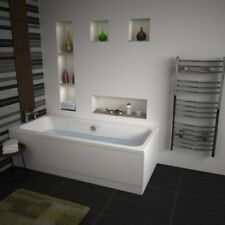 Vernwy 1800mm Double Ended Straight Bath Wide 800mm with Front & End Panel