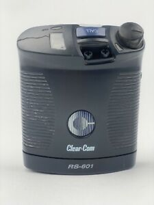 Clear-Com RS-601 Single Channel Intercom Pack UsedPowers On