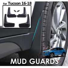 Set Splash Guards Mud Flaps For Hyundai Tucson 2016 2017 2018 Front & Rear