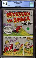 Mystery in Space # 97 CGC 9.4 Off-White to White (DC, 1965) Lee Elias cover