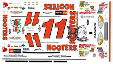 #11 Brett Bodine Hooters Taurus 2002 1/32nd Scale Slot Car Decals
