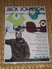 JACK JOHNSON  -  AUSTRALIAN  TOUR -  PROMO TOUR POSTER